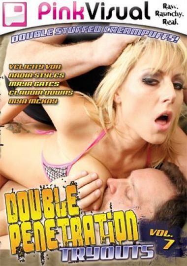 Double Penetration Tryouts 7 / Двойное Пробное Проникновение 7 [2009 г., Anal, Double Penetration, DVDRip]