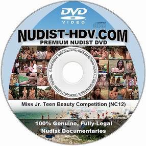 PureNudism - Конкурс красоты среди девочек / Jr  Teen Beauty Pageant (2007) DVDRip