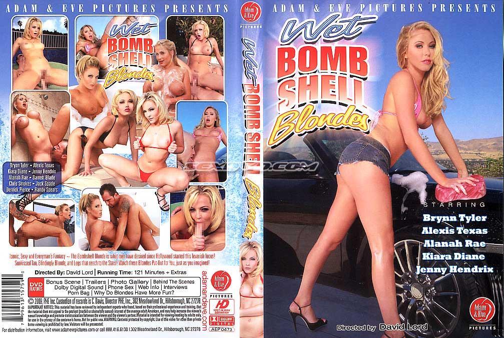 Мокрые Бомбовые Блондинки / Wet Bombshell Blondes (2009) DVDRip