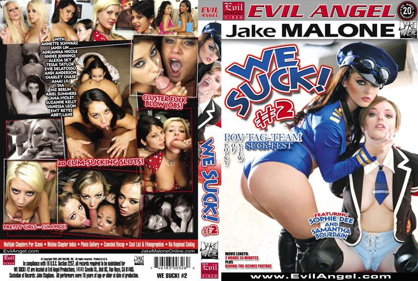 We Suck 2 / �� - ������� 2 [2009 �., Gonzo, Oral, Cumshots, POV, DVDRip]