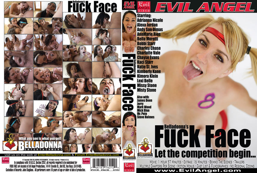 Belladonna's Fuck Face / Belladonna's Трах Лица [2009 г., Oral, Threesomes & More, Throat Jobs. DVDRip]