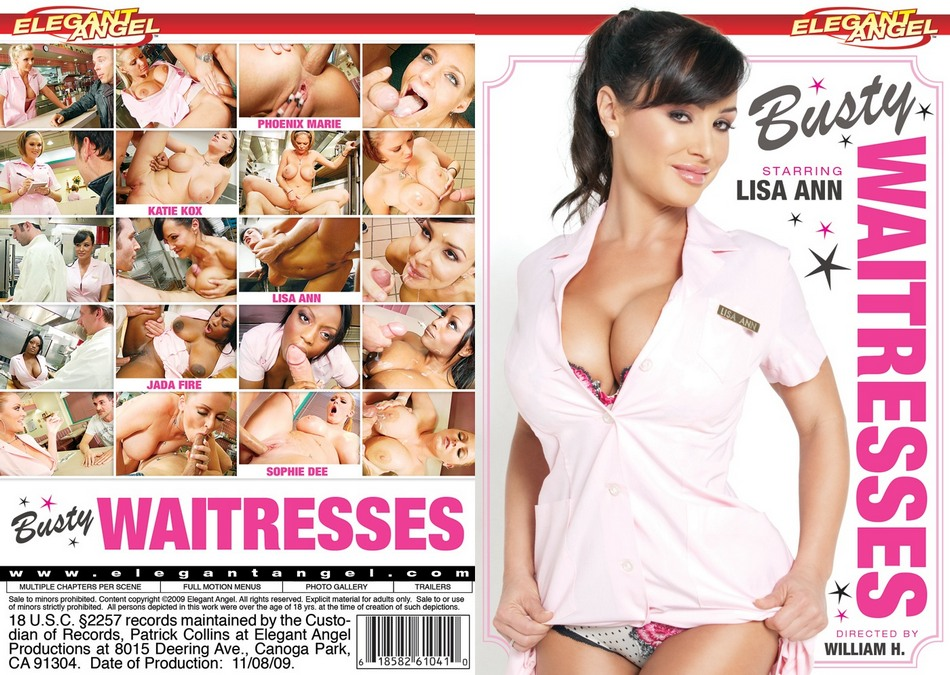 Busty Waitresses / Грудастые Официантки  [2009 г., Gonzo, Big Tits, Anal, DVDRip]