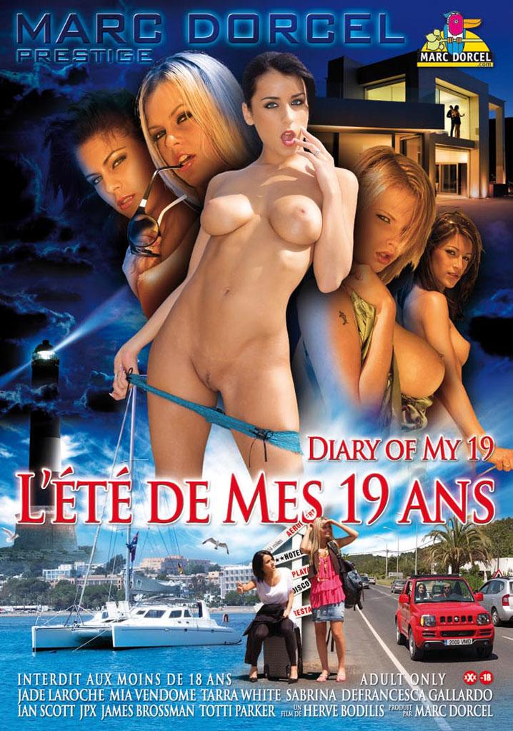 L'ete De Mes 19 Ans / Дневник моего 19-летия (2009) DVDRip (УЛУЧШЕННОЕ КАЧЕСТВО)