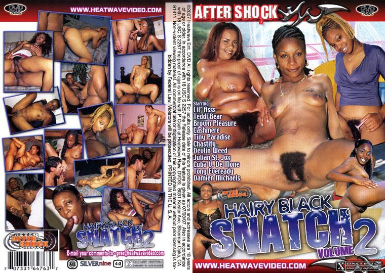 Черные волосатые пирожки #2 / Hairy Black Snatch #2 (2007) DVDRip