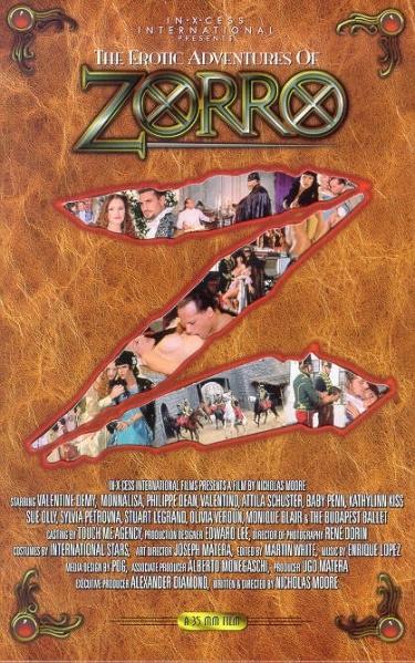 Эротические похождения Зорро(РУССКИЙ ПЕРЕВОД) / zorro (1996) VHSrip(хороший)