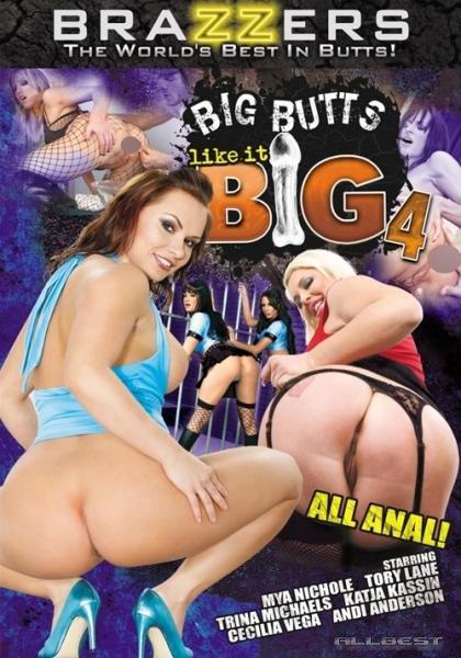 Brazzers - Большие задницы любят побольше - Часть 4 / Big Butts Like it Big #4 (2009) DVDRip