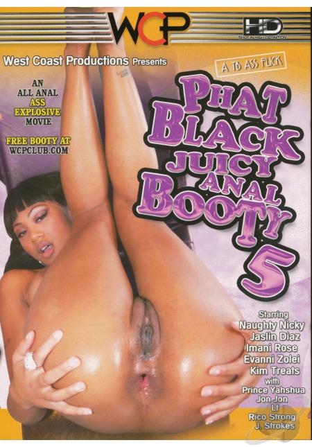 West Coast Productions - Толстая чёрная сочная анальная добыча - Часть 5 / Phat Black Juicy Anal Booty #5 (2010) DVDRip
