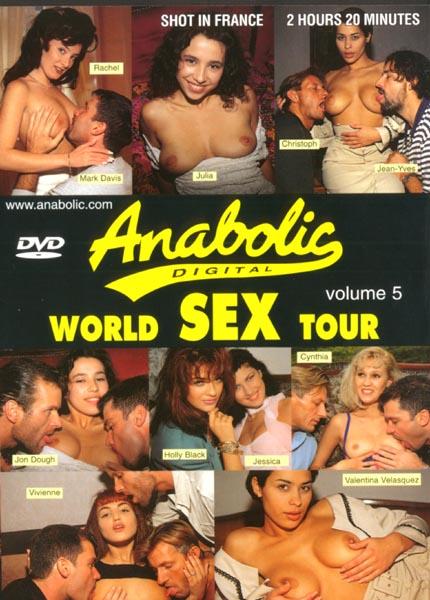 World Sex Tour 5 / Мировой секс тур 5 [1996 г., Gonzo, Straight, Anal, DP, DVDRip]