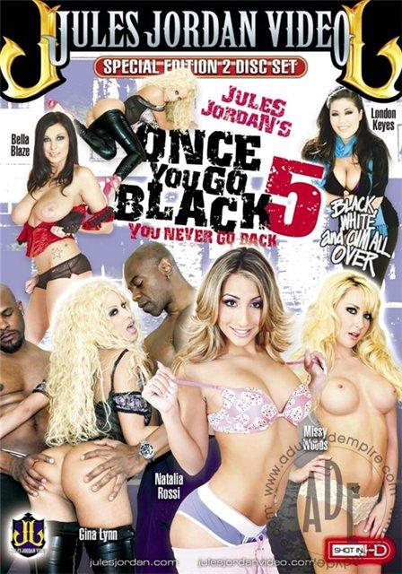 Jules Jordan Productions - Как только ты уйдёшь с черными можешь не возвращаться - Часть 5 / Once You Go Black You Never Go Back #5 (2010) DVDRip