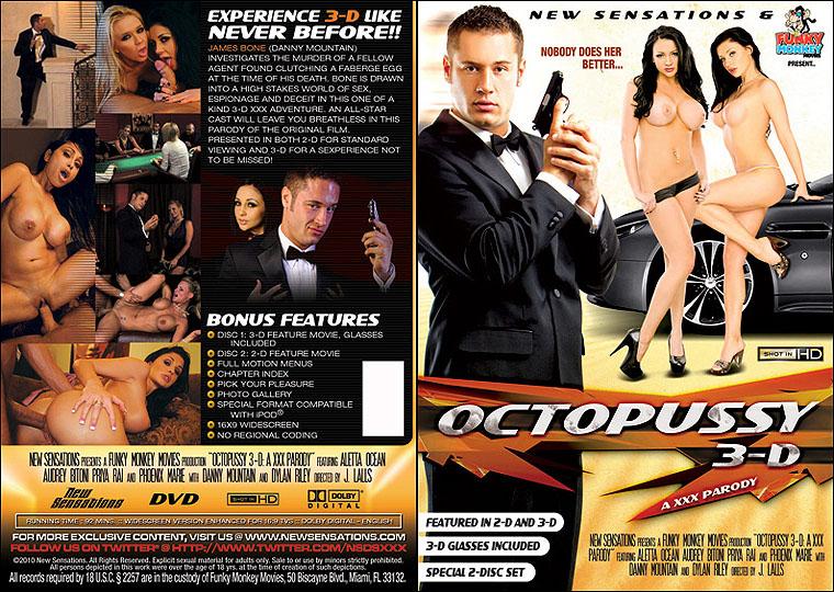 Осьминожка 3D: XXX Пародия / Octopussy 3D: A XXX Parody (2010) DVDRip