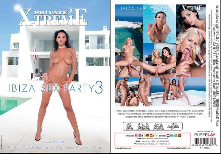 Секс пати на Ибице 3 / Ibiza Sex Party 3 (2007) DVDRip