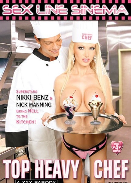 Грудастый шеф-повар / Top Heavy Chef: A XXX Parody (2010) DVDRip