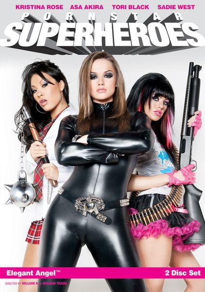 Порнозвезды-Супергерои / Pornstar Superheroes (2010) DVDRip