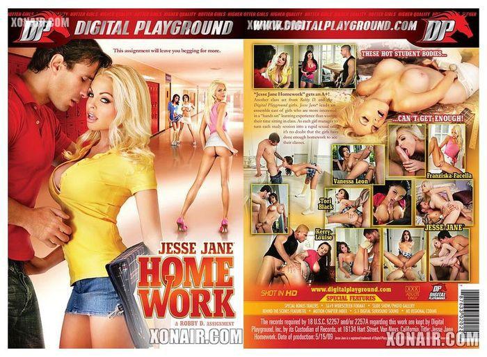 Jesse Jane : Домашнее задание / Jesse Jane Homework (2010) DVDRip