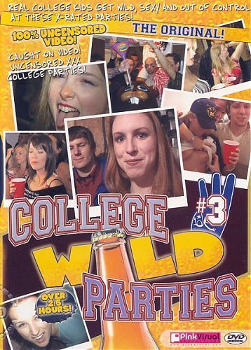 Pink Visual - Дикие студенческие вечеринки - Часть 3 / College Wild Parties #3 (2007) DVDRip