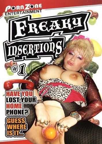 [PornZone / VideosZ.com] Freaky insertions 1 / Извращеноое вставление 1 (2008) DVDRip
