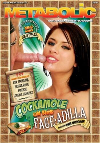 Мыльный член на лице Адиллы / Cockamole On Her Face-Adilla (2010) DVDRip