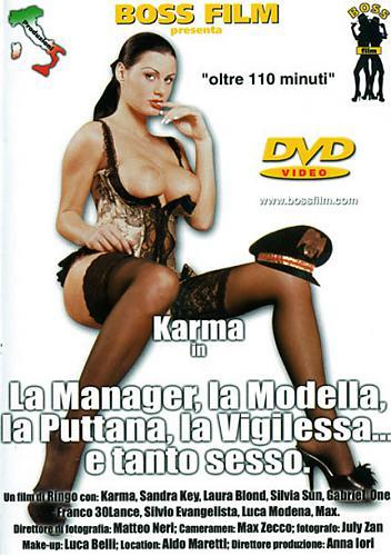 Менеджер, Модель, Проститутка, Девственница / La Manager, la Modella, la Puttana, la Vigilessa... e tanto Sesso (2002) DVDRip