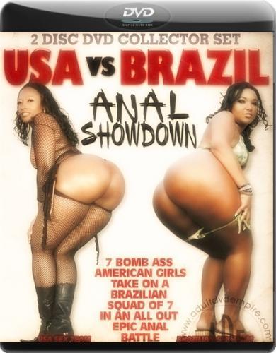 США ПРОТИВ БРАЗИЛИИ  Анальный Обмен  / USA vs BRAZIL ANAL SHOWDOWN (2010) DVDRip