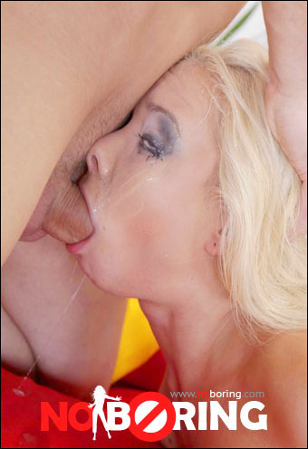 Dulsineya - Skinny blonde handles a big fat cock easily